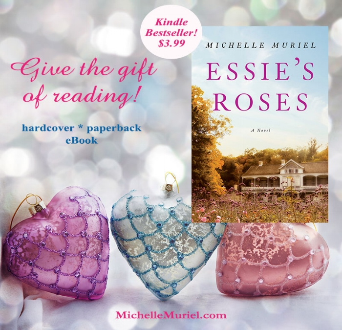 Give the gift of reading No 1 Amazon Kindle Bestseller Essies Roses by bestselling author Michelle Muriel on sale now www.MichelleMuriel.com