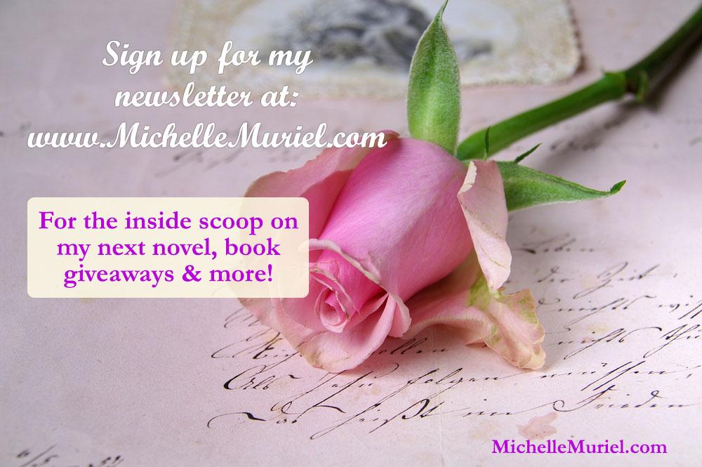 Michelle Muriel Newsletter Signup www.MichelleMuriel.com