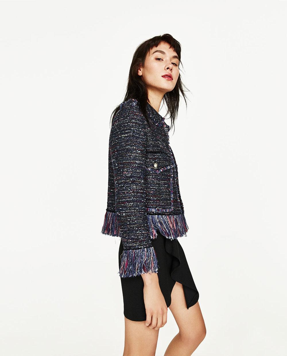 Tweed Blazer, $149