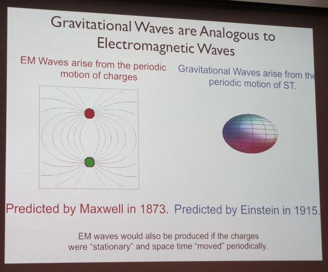 In detecting gravitational waves from the Big Bang, Brian and the BICEP team also proved an almost century-old prediction by Albert Einstein.