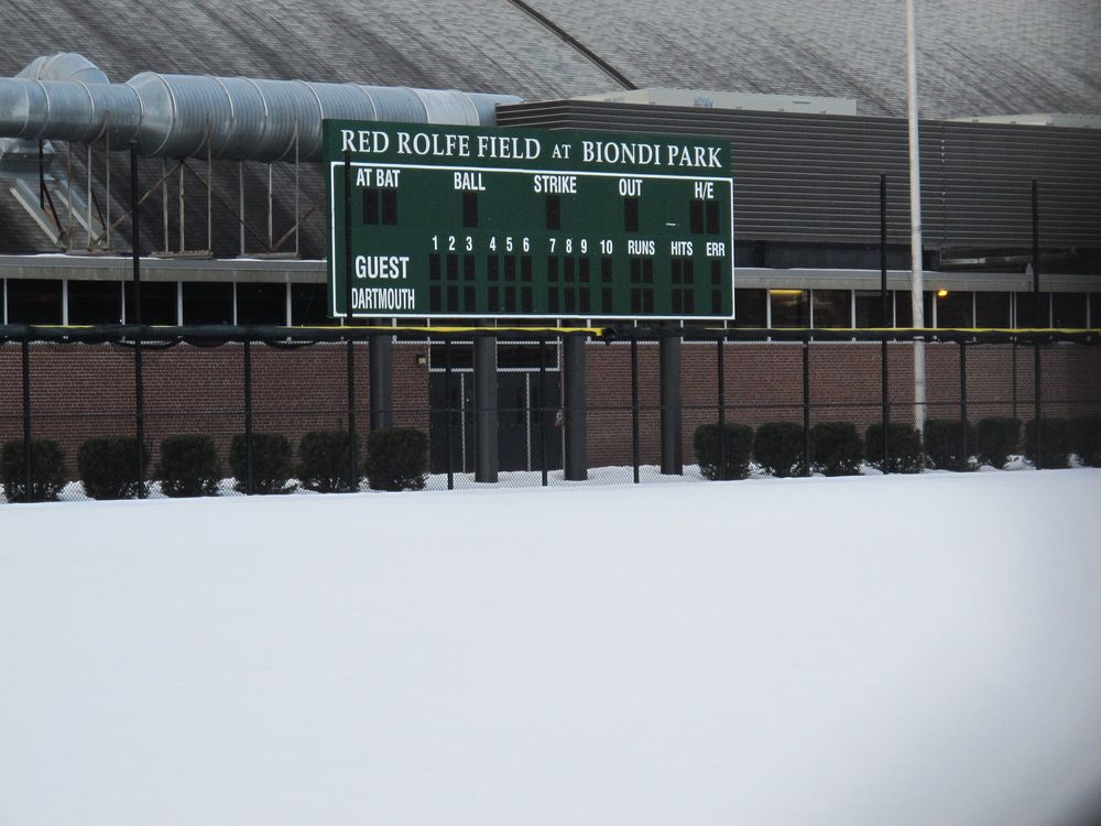 This one's for you, George and Henry Avery: In the heart of Boston Red Sox country, the Dartmouth baseball field is named for alum Red Rolfe, who played third base for the hated (in these parts) New York Yankees. Did I mention that I worked with one of Red Rolfe's descendants at Sports Illustrated For Kids?