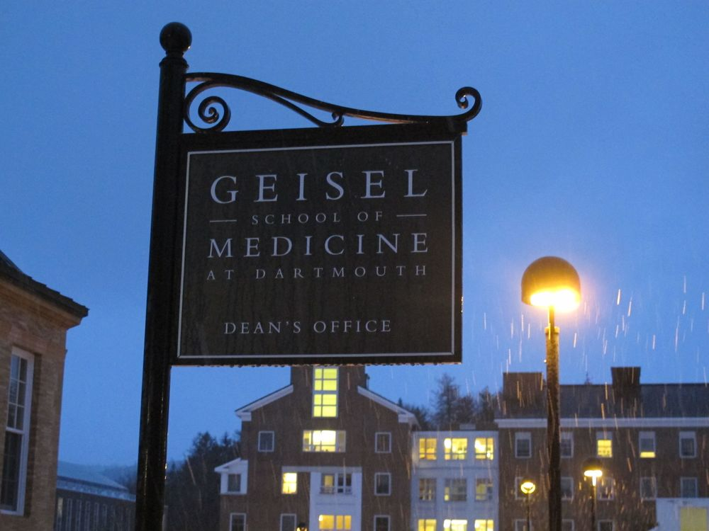 Perhaps you'll recall that just a few weeks ago we saw the Geisel library, named for Theodor Geisel, better known as Dr. Seuss. At Dartmouth we saw the Geisel med school...and happened to be there on Dr. Seuss's birthday.
