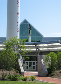 This is Concord's McAuliffe-Shepherd Discovery Center.