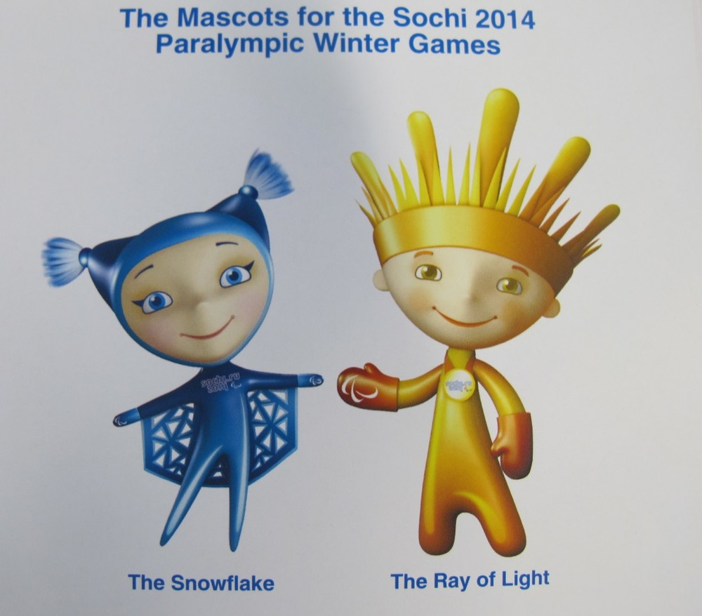 The Sochi Paralympic mascots have a natural twist too.