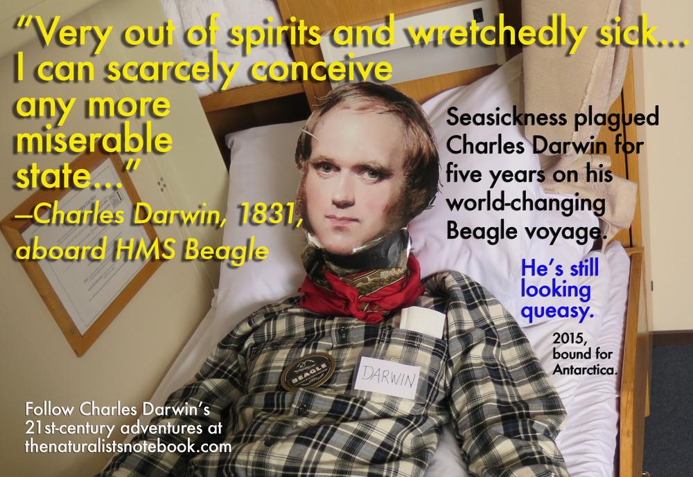 charles darwin seasick