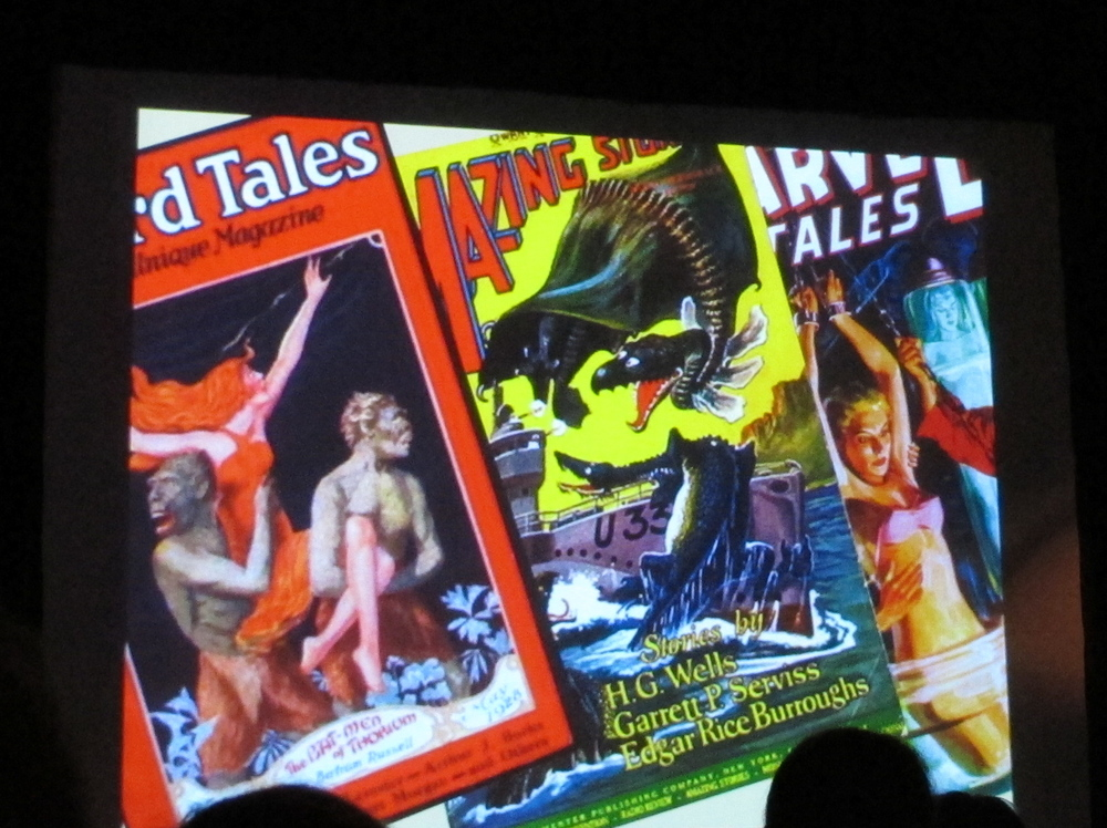 From a presentation by young Nick Rucker , I learned that the pulp magazine industry was started by a Mainer named Frank Munsey. Nick has drawn inspiration from Munsey in his planned launch of an online equivalent of a pulp magazine, to be called Kaika.