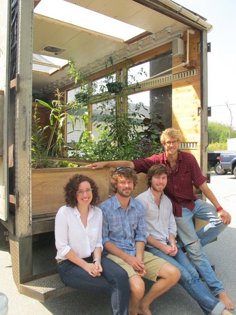Happy travels to the Compass Green team of (from left) Britten Chroman, Andrew Runkle, Nick Runkle and Justin Cutter.