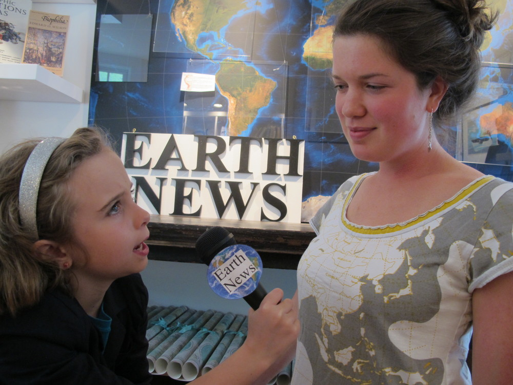 Kids and teens will conduct on-camera interviews, write stories and learn how to think like reporters.