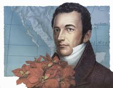 Joel Poinsett and his favorite plant