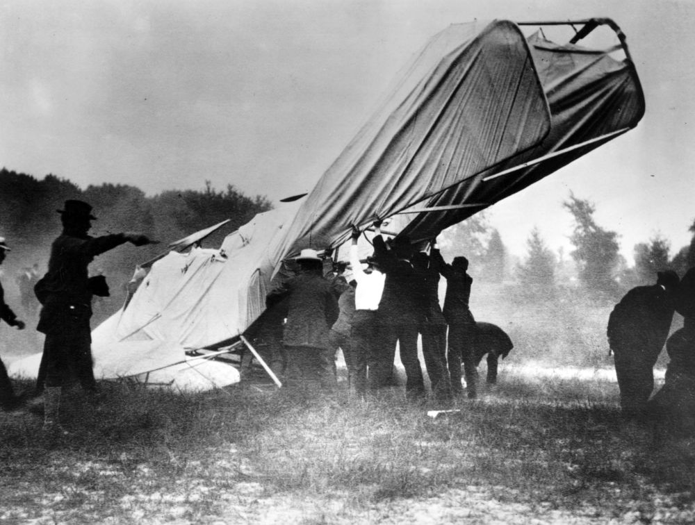 The crash that killed Thomas Selfridge