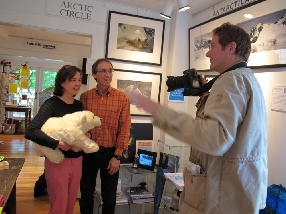 Bangor Daily News photographer John Russ visited the shop last week to shoot photos for the article.