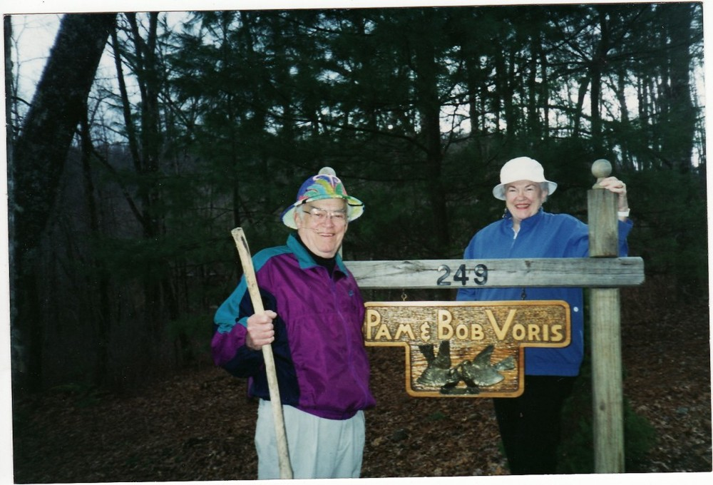 Pamelia's late stepfather, Bob Voris, with her mom in North Carolina.