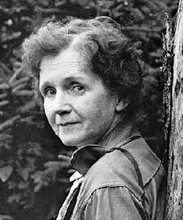 RACHEL CARSON, marine biologist, world-changing environmentalist and author of seven books, including Silent Spring and The Sea Around Us