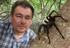 PIOTR NASKRECKI, entomologist, photographer, documentarian of vanishing species and author of The Smaller Majority and Relics: Travels in Nature's Time Machine