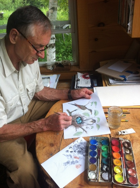 Bernd Heinrich, emeritus professor of biology at the University of Vermont, is one of the world's foremost field biologists and naturalists and the award-winning author of  20 acclaimed natural history books , for which he has done most of the paintings and illustrations. He lives in Maine.