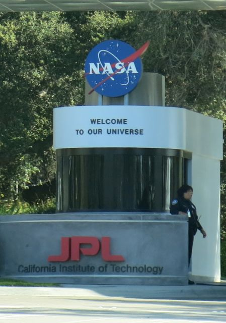 Jet Propulsion Lab Gate
