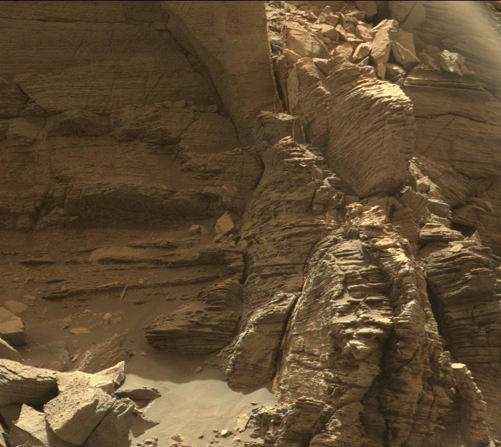Mars Rock Formation