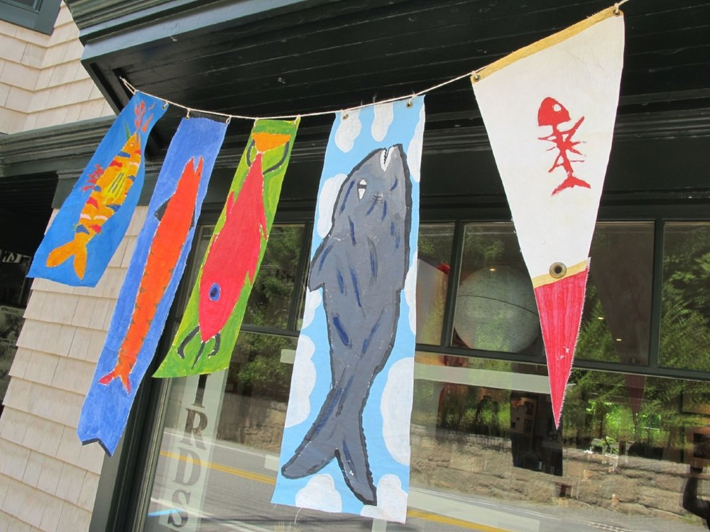 Kids' Fish Flags