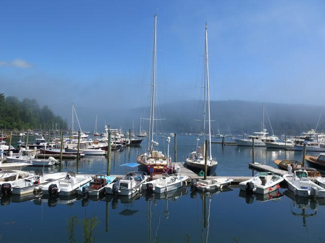 Northeast Harbor is one of Mount Desert Island's loveliest villages and a popular sailing spot.