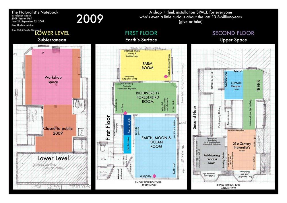 2009 floor plan