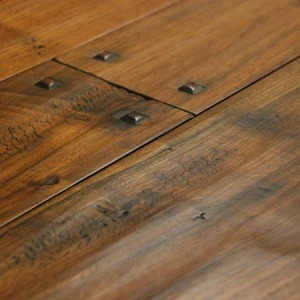 Murray Millwork - Custom Luxury - Hand Scraped - Hardwood Flooring - Walnut