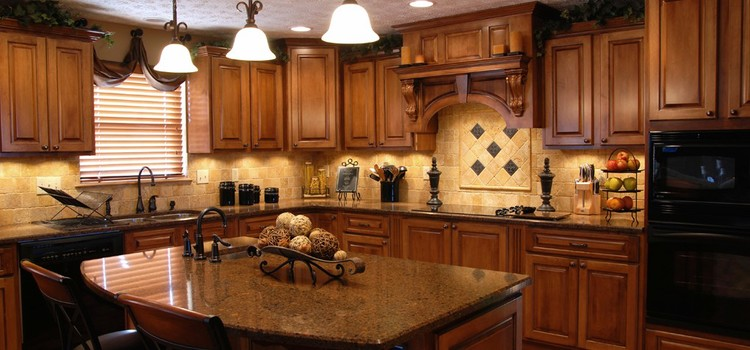 Custom Kitchens —