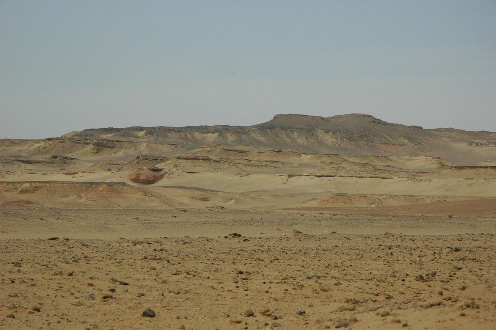 The Fayum Depression, Egypt.