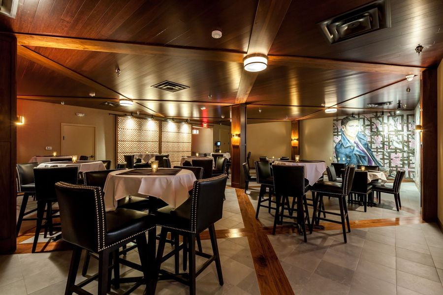 Restaurant Design  San Francisco  Mr. Tipples Recording Studio Sound panels and stage
