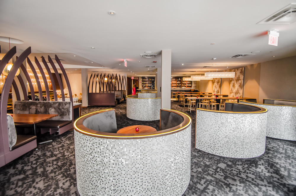 Bay Area Restaurant Design Cadence Main Dining Teacup booths