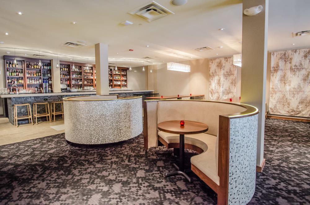 Restaurant Design Fine Dining San Francisco Cadence Restaurant Teacup Booths Pixel Carpet