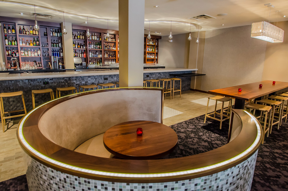 Restaurant Design Bay Area- Cadence - Teacup and Stone Front Bar
