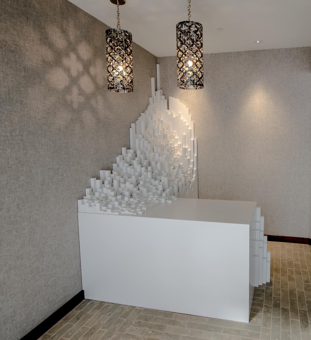 Interior Design San Francisco Custom Sculpture - Cadence Restaurant