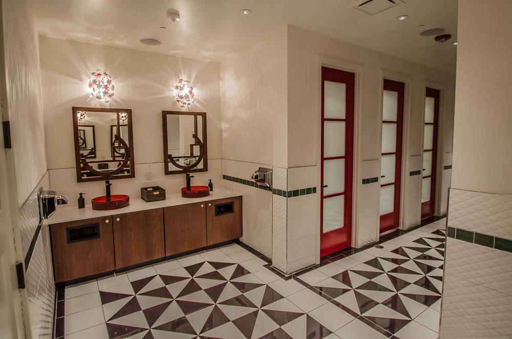 Interior Design Restaurant Bathrooms - Mr. Tipple's Recording Studio