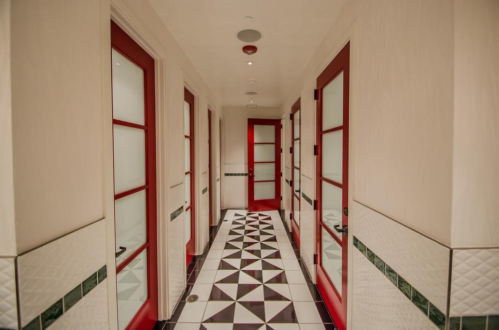 Restaurant Bathroom Design San Francisco - Mr. Tipple's Recording Studio
