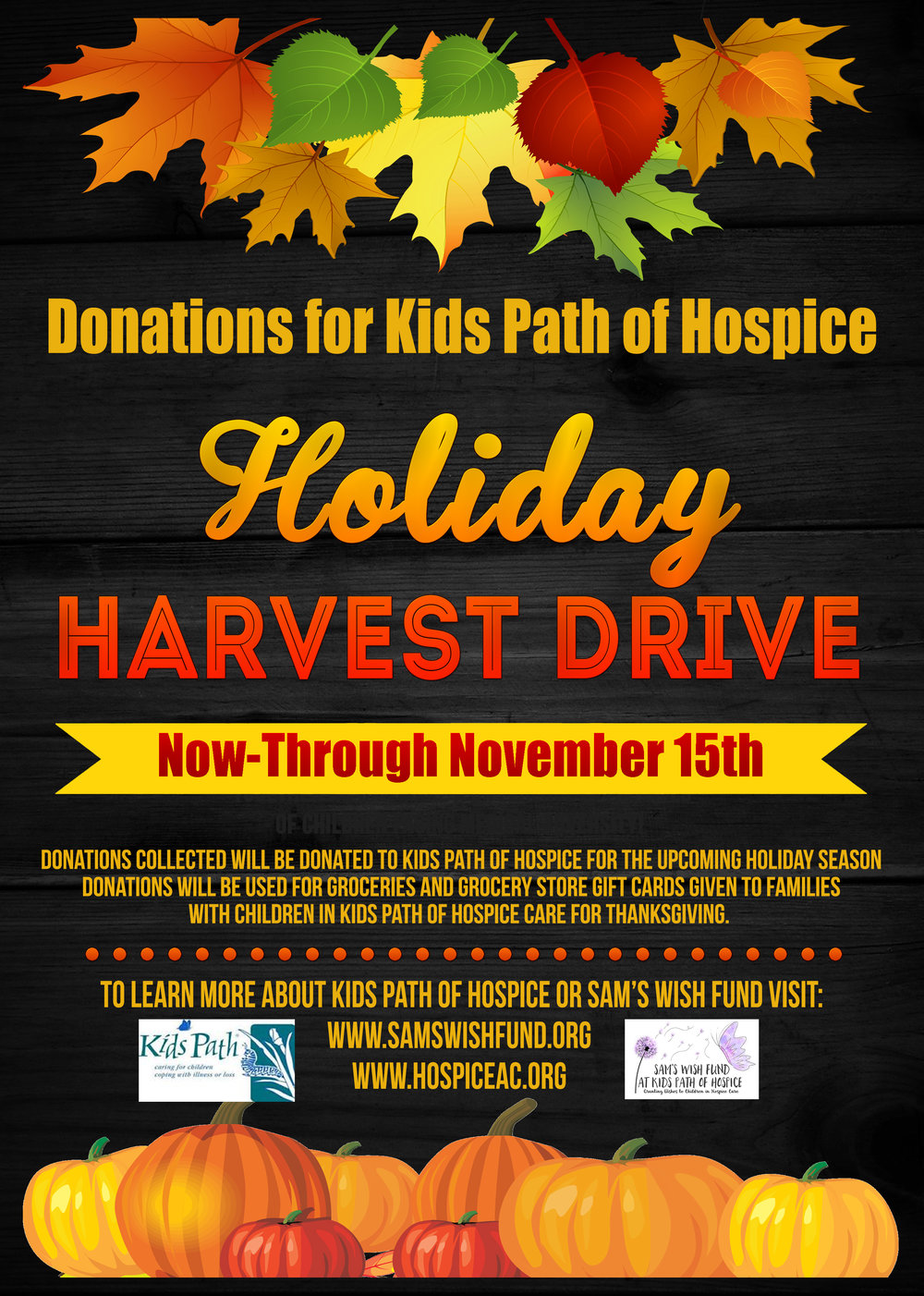 Donations may be dropped off at Maple View Farm Ice Cream 6900 Rocky Ridge Road Hillsborough, NC 27278 in our donation Jars.  You can also drop off grocery store gift cards at this location.  We will be listing additional drop off locations soon.    For more information contact: Allison@mapleviewfarm.com or CatesK15@gmail.com