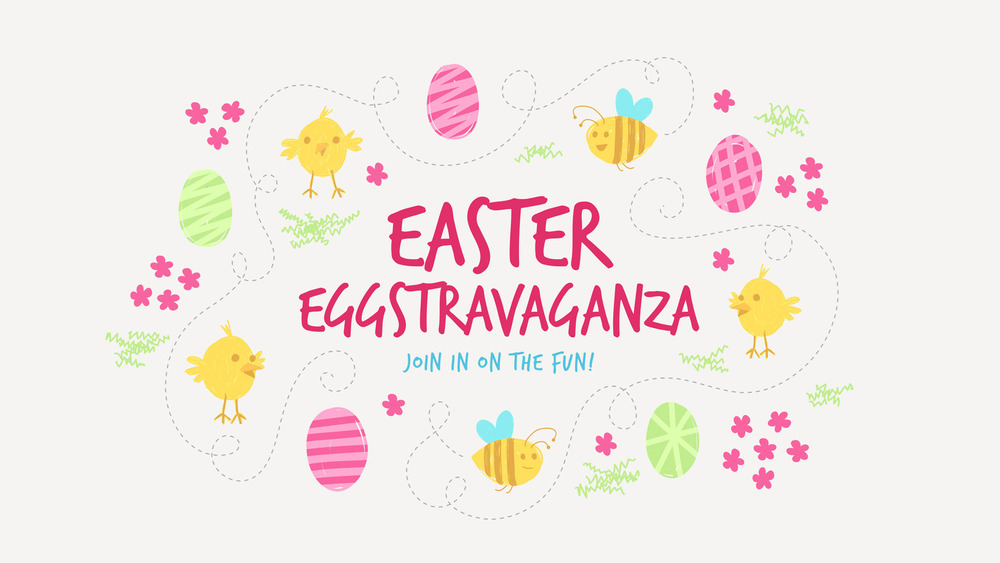 "Come and join us on Easter Sunday for our 1st Annual Easter Eggstravaganza!  There will be music, puppets, prizes, candy, egg hunts and bounce houses.  We will begin at 9:45 AM in the chapel.  Grades Pre K-5th Grade Welcome!               96              Normal   0           false   false   false     EN-US   X-NONE   X-NONE                                                                                                                                                                                                                                                                                                                                                                                                                                                                                                                                                                                                                                                                                                                                                                                                                                                                                 /* Style Definitions */ table.MsoNormalTable 	{mso-style-name:""Table Normal""; 	mso-tstyle-rowband-size:0; 	mso-tstyle-colband-size:0; 	mso-style-noshow:yes; 	mso-style-priority:99; 	mso-style-parent:""""; 	mso-padding-alt:0in 5.4pt 0in 5.4pt; 	mso-para-margin:0in; 	mso-para-margin-bottom:.0001pt; 	mso-pagination:widow-orphan; 	font-size:12.0pt; 	font-family:Calibri; 	mso-ascii-font-family:Calibri; 	mso-ascii-theme-font:minor-latin; 	mso-hansi-font-family:Calibri; 	mso-hansi-theme-font:minor-latin;}      Click Here to Register"