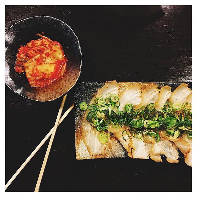 #porkbelly + #kimchi 💯👌🏻