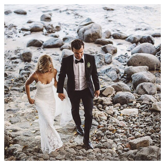 Thank you to all our beautiful friends and family for making this week unforgettable @studio7photo and @annerhettphotography for capturing the memories and @grace_loves_lace and @madewithclasssuits for making us look good in the middle of a Mexican heat wave! 👰🏼🤵🏼🤯 #blessed #butseriouslytho