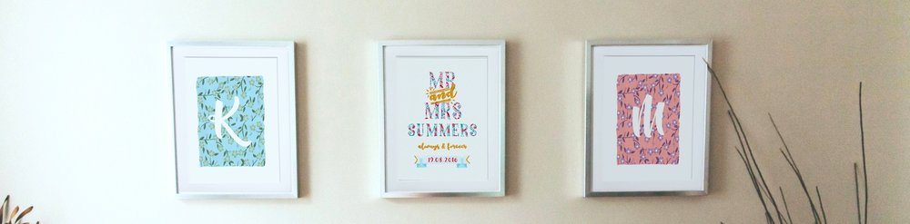 FRAMED SET OF THREE - SUMMERS WEDDING.jpg