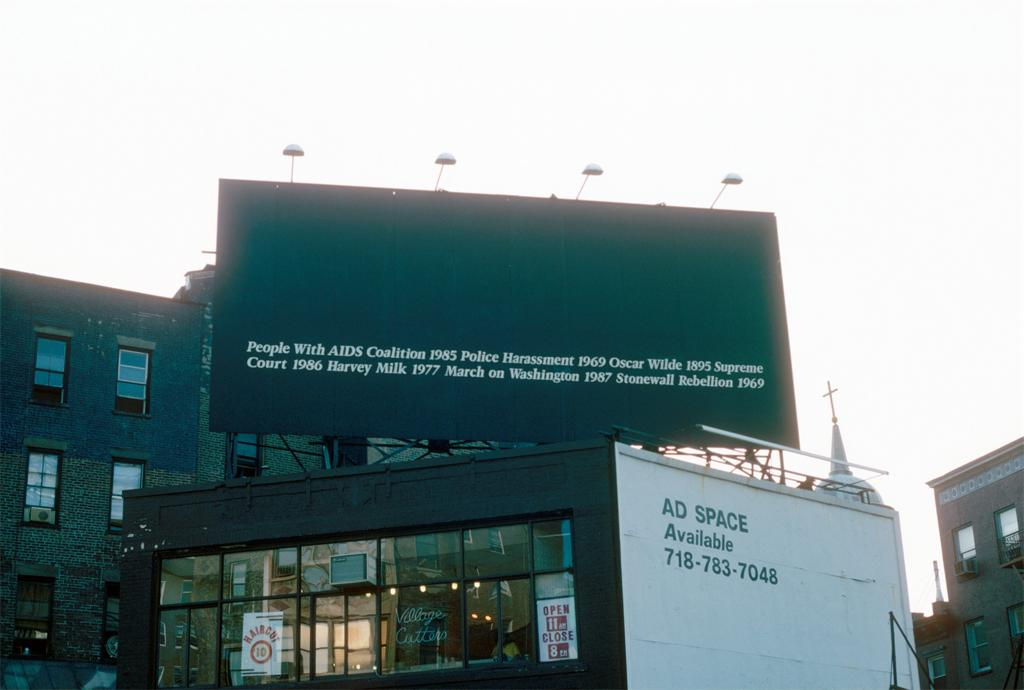 heterogeneoushomosexual: Felix Gonzalez-Torres Untitled, 1989 Location: Sheridan Square, New York, NY