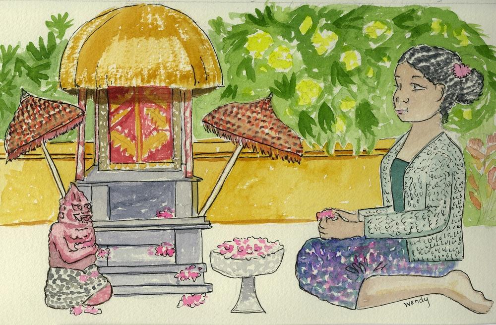 Balinesian Offerings