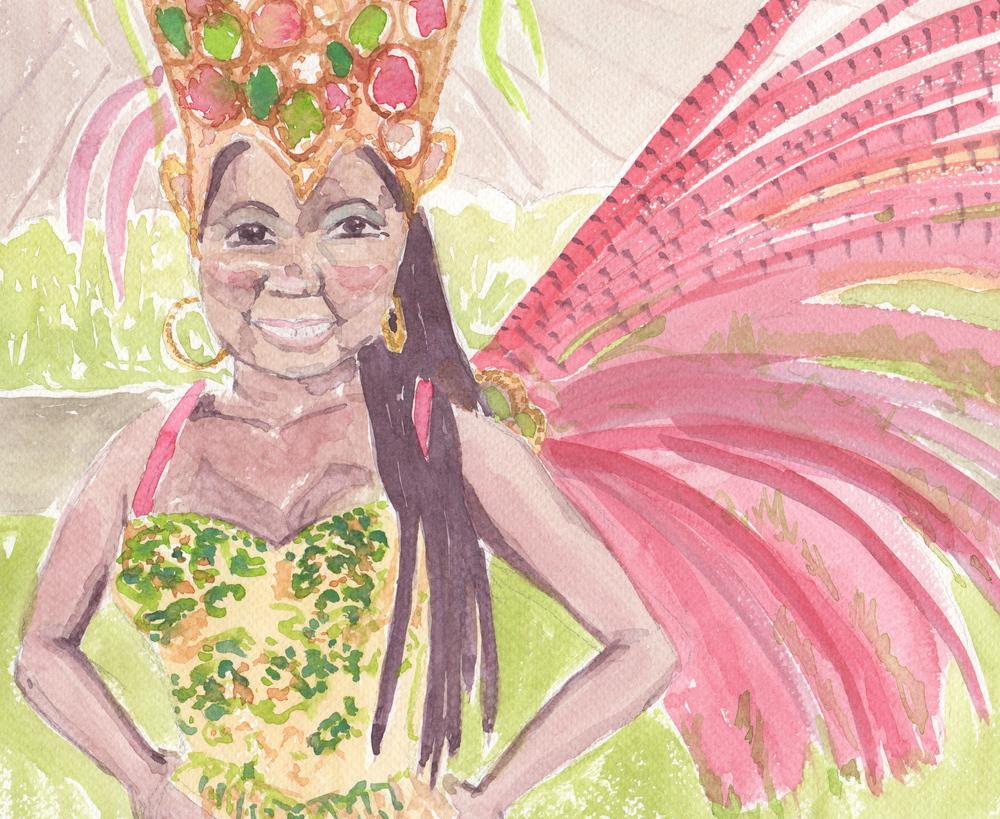 Rio Mardi Gras Dancer