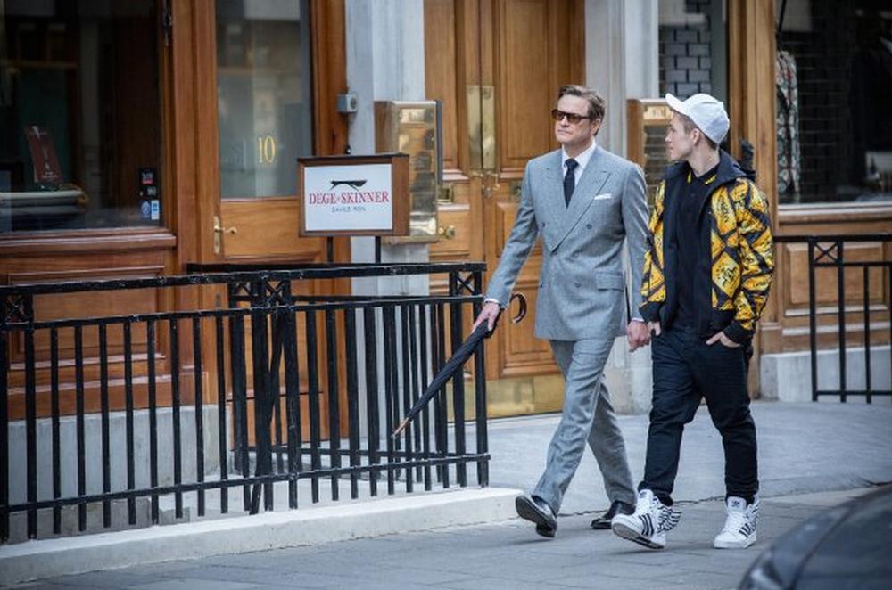 Colin Firth y Taron Egertonen Kingsman