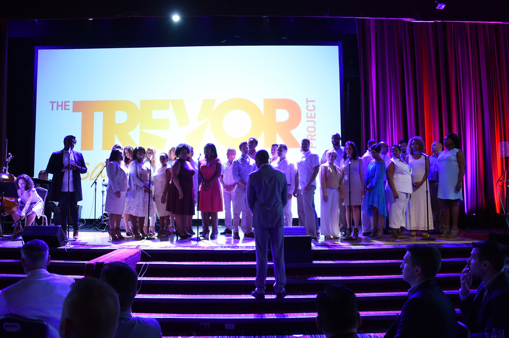 Alex Newell, Michael McElroy and the BROADWAY INSPIRATIONAL VOICES