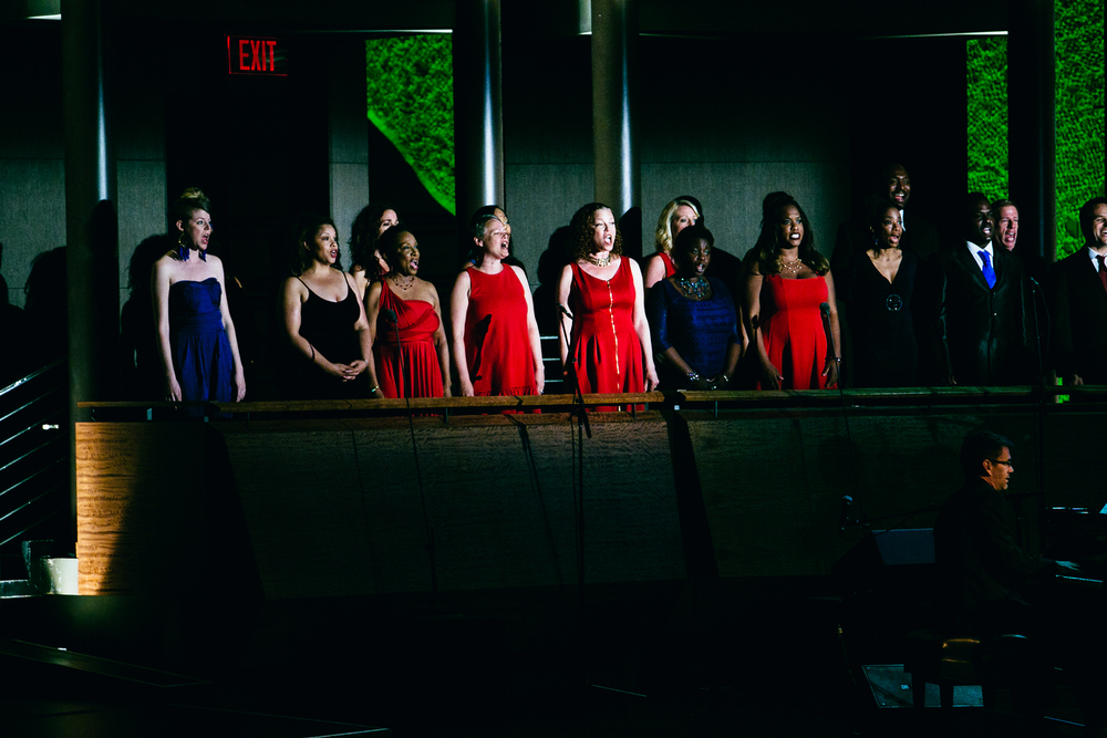 Broadway Inspirational Voices  Photography by: Othello Banaci