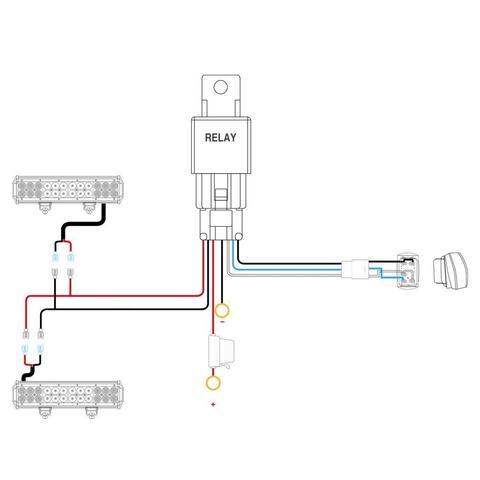 7_84230317 6103 46e0 9f57 78d2f2d39b5d_large?format=500w nilight 12v 5pin rocker switch led light bar wiring harness kit nilight wiring harness installation at readyjetset.co