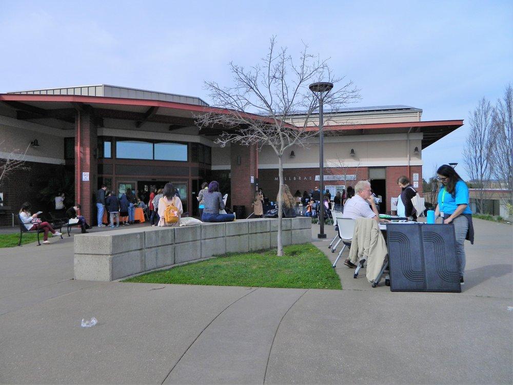View of the VANovCon community fair on Saturday, January 26.