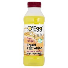 O egg liquid egg whites