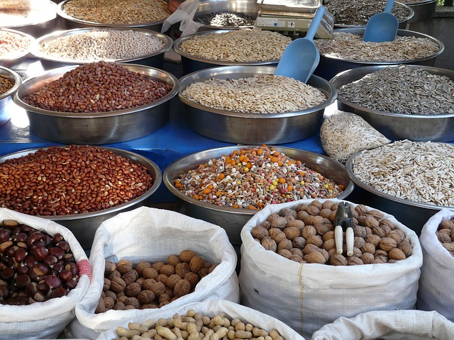 healthy seeds and nuts