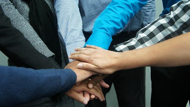 team spirit at work thanks to wellness programme